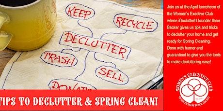 DECLUTTER & SPRING CLEAN WITH ILENE BECKER tickets