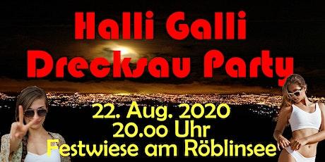 Hallo-Galli-Drecksau-Party in Fürstenberg tickets