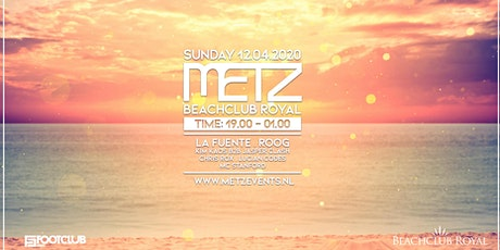 METZ on the Beach - Easter Sunday - La Fuente & Roog tickets
