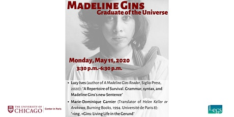 Madeline Gins - Graduate of the Universe tickets