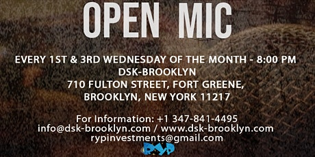 Open Mic tickets