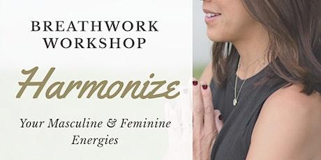 Breathwork to Harmonize Your Masculine & Feminine Flow tickets