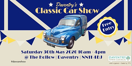 Daventry's Classic Car Show 2020 tickets