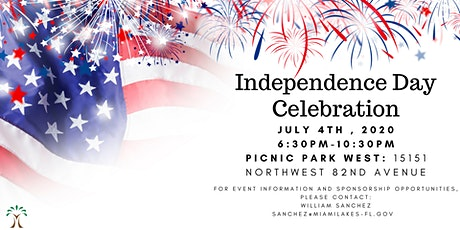 17th Annual Fourth Of July Independence Day Celebration, and Firework show tickets