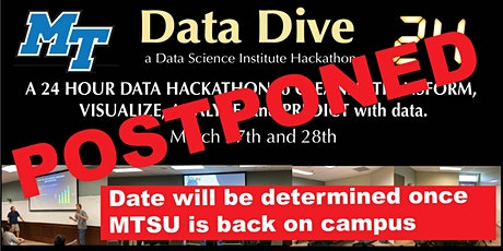 Data Dive 24 - sponsored by VHT - Event has been postponed - new date TBD tickets