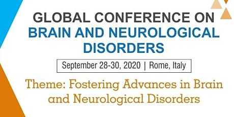 Global Conference on Brain and Neurological Disorders tickets