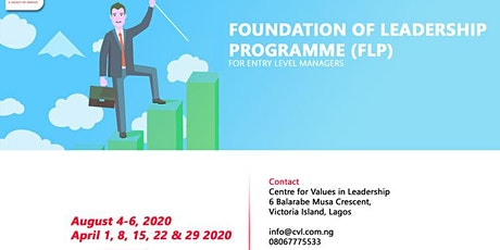 FOUNDATION OF LEADERSHIP PROGRAMME (FLP) tickets