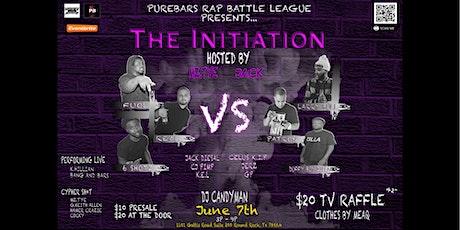 Purebars Rap Battle League Presents: The Initiation tickets
