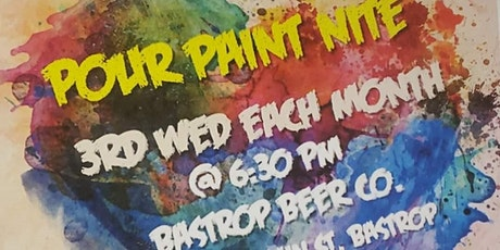 Pour Paint Night at Bastrop Beer Co. tickets