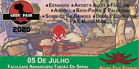 Geek Fair Taboão 2020 ingressos