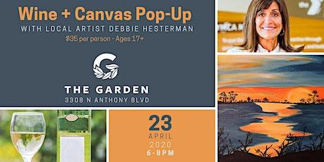 Wine + Canvas Pop-Up Workshop tickets