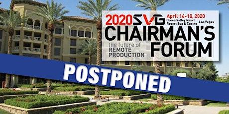 2020 SVG Chairman's Forum tickets