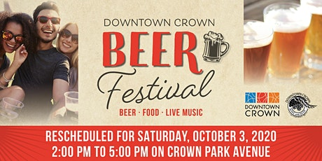 Downtown Crown Beer Festival tickets