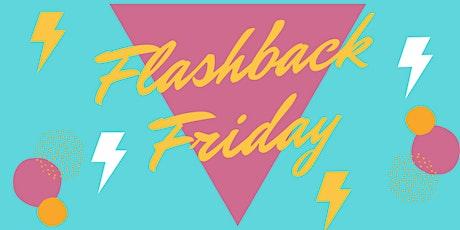 Flash Back Friday 80's night @ Bar AcQua tickets