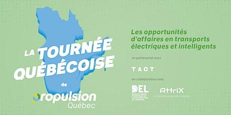 Tournée québécoise de Propulsion Québec |Longueuil tickets