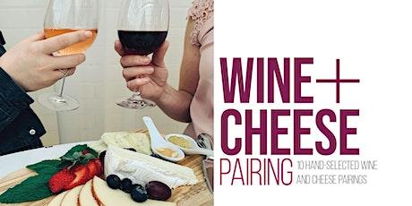 Wine + Cheese Pairing tickets