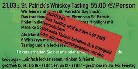 NEUER TERMIN: St. Patrick´'s Day Whiskeytasting - mit Mareike Spitzer Tickets