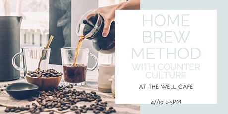 Home Brew Method with Counter Culture Coffee tickets