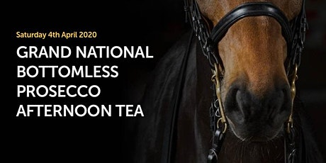 Grand National Day – Bottomless Prosecco Afternoon Tea tickets