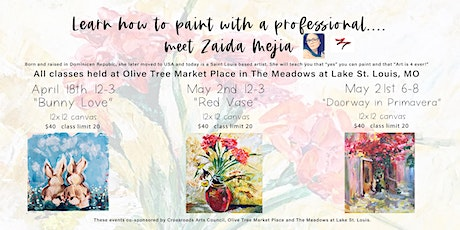 Learn How to Paint with a Professional Artist tickets