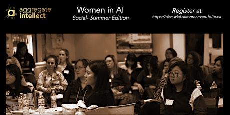 AISC; Women in AI Social- Summer Edition tickets
