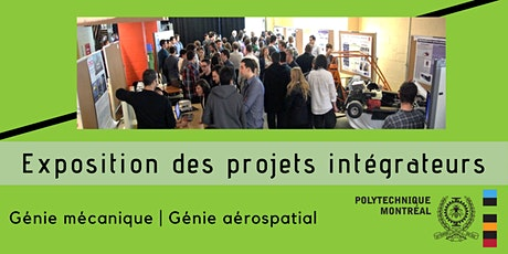 Polytechnique Montréal, mécanique-aérospatial: Projets intégrateurs 2020 billets