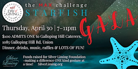 MAX Day of Giving Starfish Gala tickets