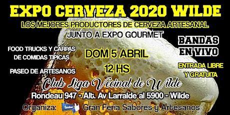 EXPO CERVEZA 2020 WILDE entradas
