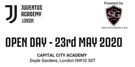 Juventus Academy London Open Day (USG coaching) tickets