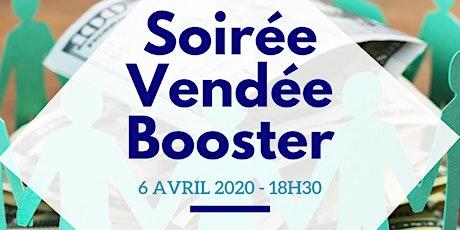 Invitation Soirée Vendée Booster ! billets