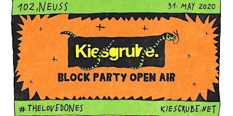 Kiesgrube 2020 - #4 - Block Party Open Air tickets
