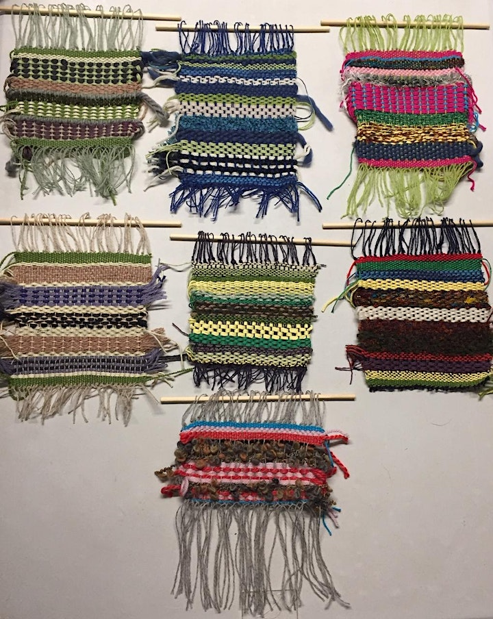 ONLINE WORKSHOP Hand Weaving with Kirsty Jean image