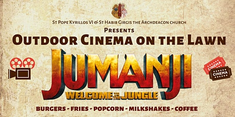 Jumanji - OUTDOOR CINEMA ON THE LAWN tickets