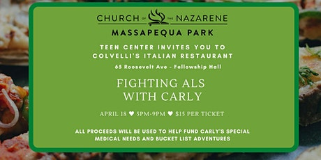 Teen Center Fundraiser - Fighting ALS with Carly tickets