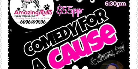 COMEDY FOR A CAUSE For AMAZING MUTTS tickets