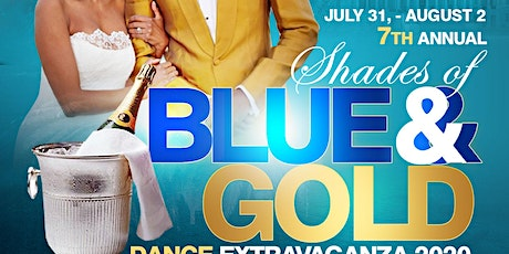 DMV 7th Annual Shades of Blue & Gold Dance Extravaganza 2020! tickets