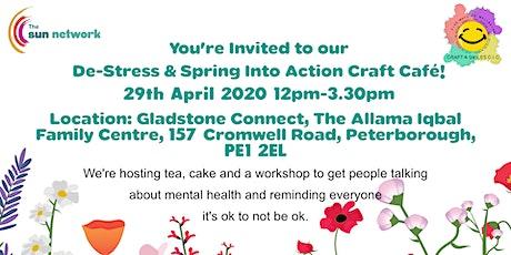 De-Stress & Spring into Action Craft Cafe tickets