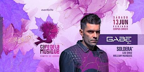 Cafe de La Musique Campos do Jordão - Corpus Christi: Gabe ingressos