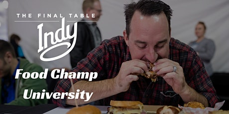 Food Champ University / EAT Judging Class tickets