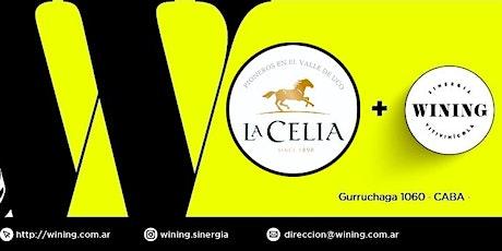 Wining Tasting #LaCelia entradas