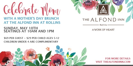 Mother's Day Brunch at The Alfond Inn 2020 tickets