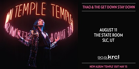Thao & The Get Down Stay Down tickets