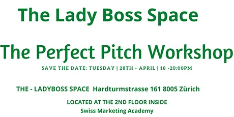 The Perfect Pitch Workshop Tickets