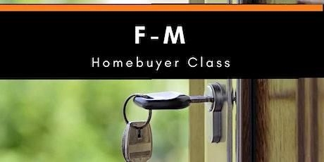 April F-M Homebuyer Class tickets