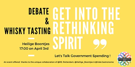 Get in the Rethinking Spirit: Let's Talk Government Spending tickets