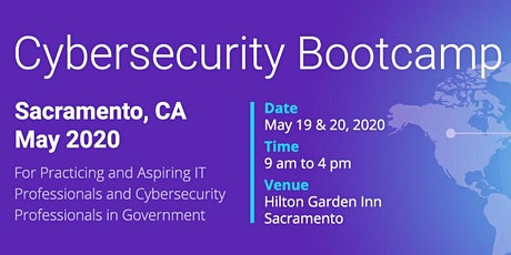 Cybersecurity Bootcamp in Sacramento, CA - May 2020 tickets