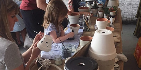 Drop in plant pot painting at Urban Jungle East tickets