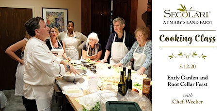Early Garden and Root Cellar Feast with Chef Wecker tickets
