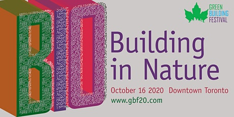 Green Building Festival 2020 tickets
