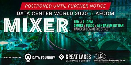 Data Center World AFCOM 2020 Mixer tickets